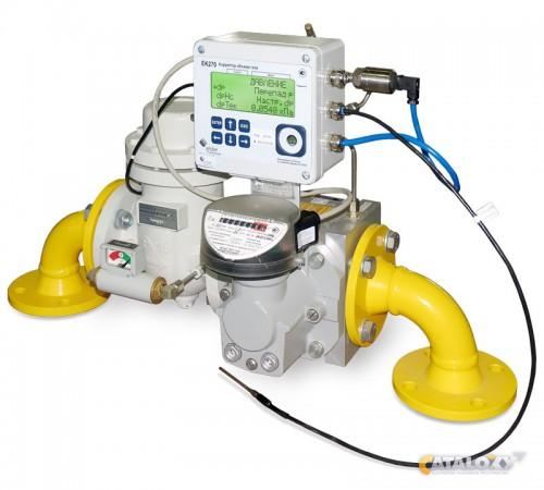 Комплекс для измерения количества газа СГ-ЭК-Т1-400