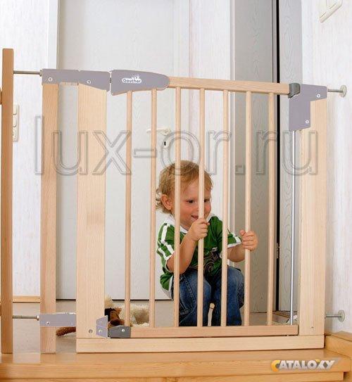 Защитный барьер на лестницу
