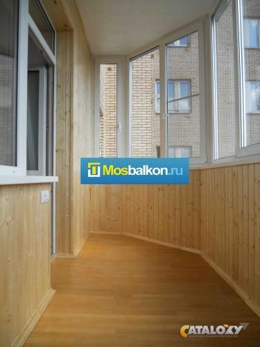 Остекление и отделка балконов и лоджий купить в москвe недор.