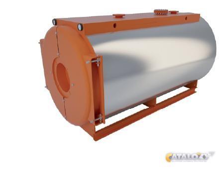Котлы работают на твердом, жидком и газообразном топливе, предназначены для нагревания воды, используемой