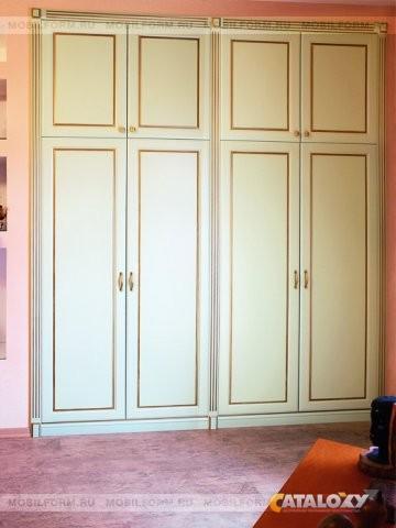 Шкаф встроенный , двери распашные купить в москвe недорого m.
