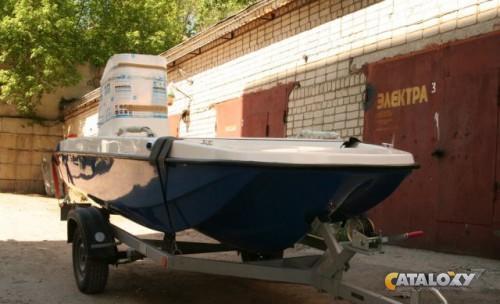 лодка кайман 400 тримаран видео