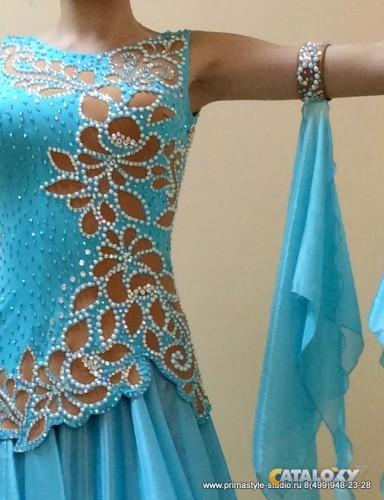 Стразы на платье своими руками