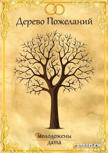 Поздравление к дереву желаний
