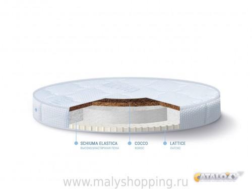 Матрас для круглой кровати для новорожденных