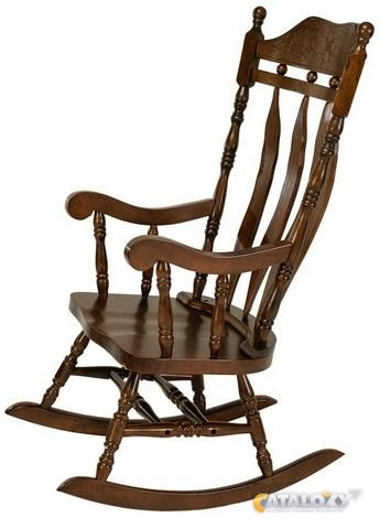 омт кресло качалка деревянная кантри 4768т в камышинe кресла